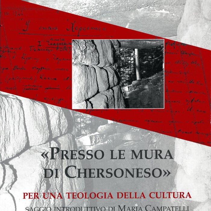 """Copertina del libro """"Presso le mura di Chersoneso"""""""