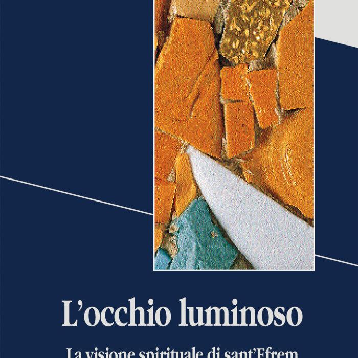 """Copertina del libro """"L'occhio luminoso"""""""