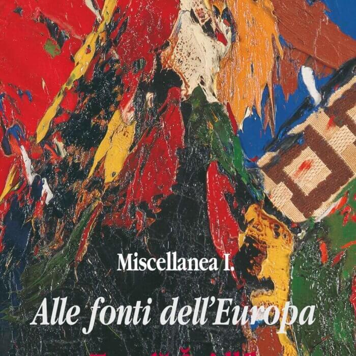 """Copertina del libro """"Alle fonti dell'Europa, Miscellanea I di padre Tomas Spidlik"""