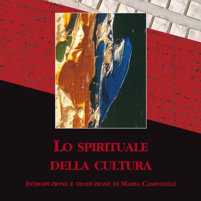 """Copertina del libro """"Lo spirituale della cultura"""""""
