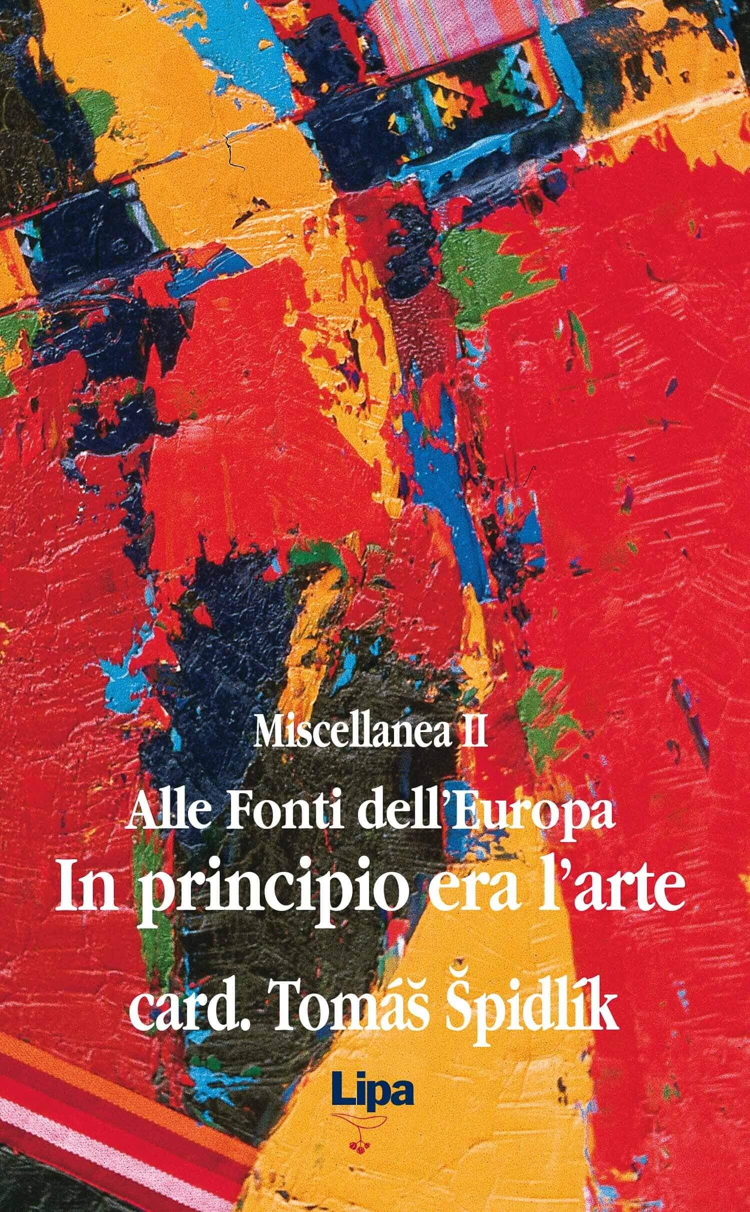 """Copertina del libro """"In principio era l'arte - Miscellanea II di Tomas Spidlik"""