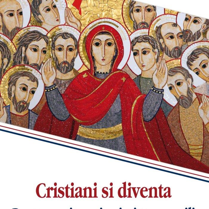 """Copertina del libro """"Cristiani si diventa"""" di Michelina Tenace"""
