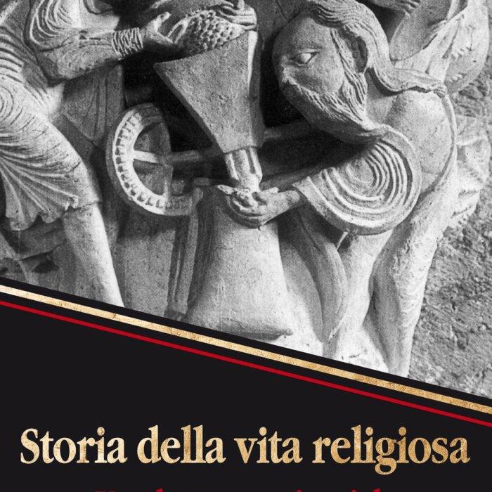 """Copertina del libro """"Storia della vita religiosa"""""""