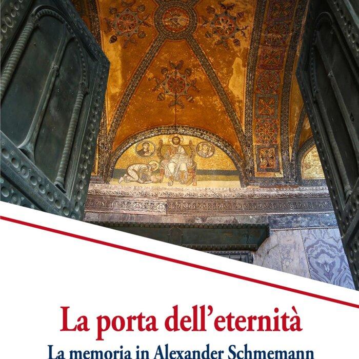 """Copertina del libro """"La porta dell'eternità"""""""