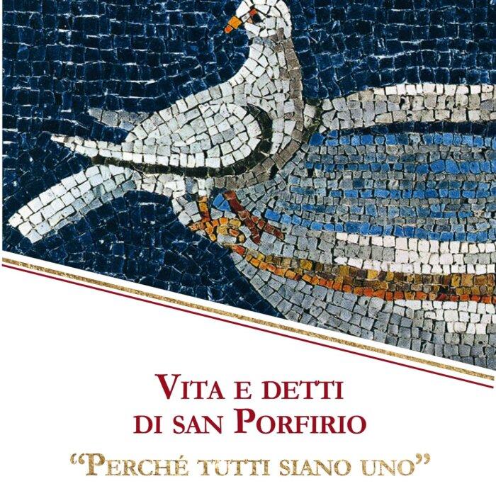"""Copertina) del libro """"Vita e detti di San Porfirio"""""""
