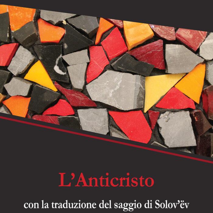 """Copertina del libro """"L'Anticristo"""""""