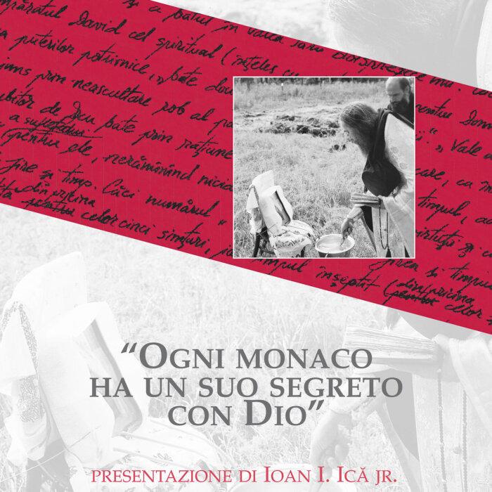 """Copertina del libro """"Ogni monaco ha un suo segreto con Dio"""""""
